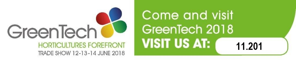 Visit us at Greentech 2018